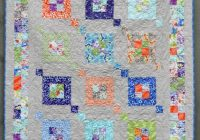 modern quilt pattern fair square sizes crib to queen Interesting Crib Size Quilt Patterns