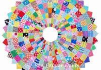 Modern red pepper quilts giant scrappy dresden plate block and 11 Interesting Dresden Plate Quilt Pattern Inspirations