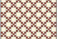 Modern single irish chain quilt patterns and blocks 10 Modern Irish Chain Quilt Patterns Inspirations