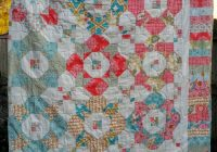 Modern spring splendor quilt pattern hbd 107 advanced beginner 11 Cool Fat Quarter Bundle Quilt Patterns