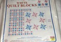 Modern starburst jack dempsey white art quilt block squares 732 9 Elegant Jack Dempsey Quilt Blocks Gallery