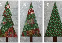 Modern stitching with 2 strings a template alternative to a paper 10 Cool Pieced Tree Quilt Patterns Inspirations