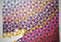 Modern straight piecing patterns that appear curved snails trail 11 Cozy Kaleidoscope Quilt Layout Ideas Gallery