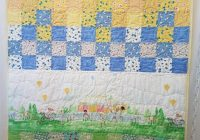 Modern summer ba quilt patchwork ba quilt vintage ba quilt diverse ba quilt sarah jane fabric quilt 9 Stylish Vintage Baby Quilt Inspirations