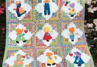 Modern sunbonnet sue overall sam quilt 10 Cozy Sunbonnet Sam Quilt Pattern Gallery