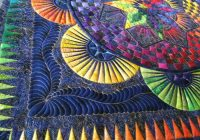 Modern this is a circle of life quilt one of jacquline de jonge Circle Of Life Quilt Pattern