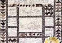 Modern vintage tin pattern in 2020 embroidery patterns vintage Cool Vintage Tin Quilt Kit