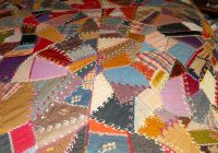 Modern vintage twin crazy quilt made just for u Modern Vintage Crazy Quilt Inspirations