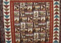 Modern western quilt project on craftsy western quilts horse 10 Cool Western Themed Quilt Patterns