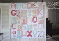 Modern xyz vintage modern quilts quilts vintage modern quilts Modern Vintage Modern Quilts Inspirations