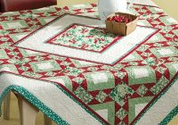 moms kitchen table topper pattern Cool Quilted Table Topper Patterns Inspirations