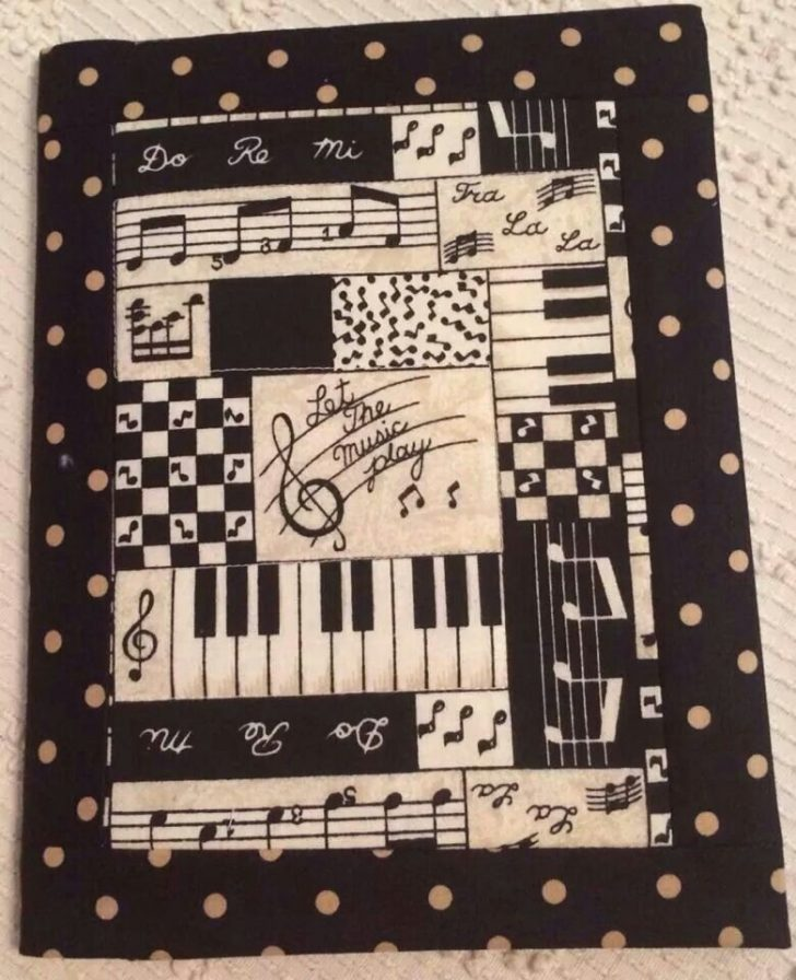 Permalink to Modern Music Themed Quilts Gallery