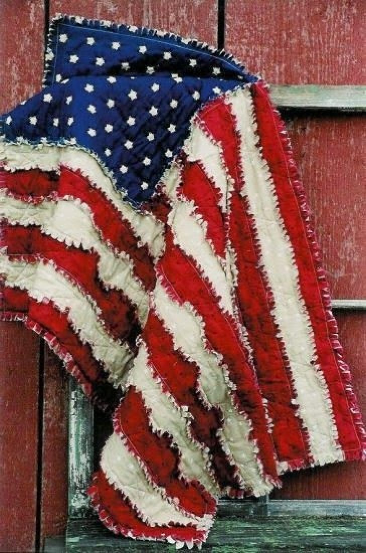 Permalink to Cool American Flag Rag Quilt Pattern Gallery