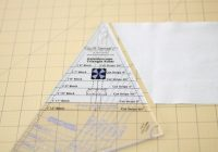 my first isosceles triangle quilt tutorial included Isosceles Triangle Quilt Ruler Inspirations