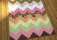 my quilt infatuation easy peasy chevron quilt tutorial Stylish Pattern For Chevron Quilt