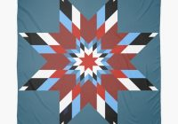native american indians quilt blanket twinkling star scarf Unique Indian War Bonnet Quilt Pattern Inspirations