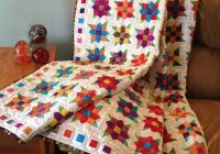 New 10 modern flower quilt patterns youll love Elegant Floral Patchwork Quilt Patterns
