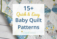 New 15 free ba quilt patterns the seasoned homemaker Cozy Baby Quilt Patterns Gallery