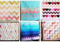 New 17 chevron quilt patterns perfect for any occasion ideal me 9 Beautiful Chevron Stripe Quilt Pattern Gallery