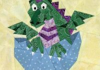 New ba dragon paper pieced quilt pattern 9 Modern Dragon Quilt Patterns Inspirations