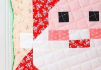 new christmas quilt pattern santa claus quilt block Santa Claus Quilt Patterns