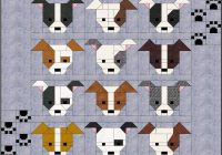 New dog gone cute block tutorial dog quilts cute quilts 11 Cool Fresh Dog Themed Quilting Fabric Inspiration