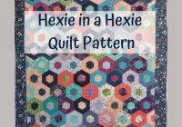 New easy modern hexagon quilt pattern pdf for instant digital download 11 Modern Modern Hexagon Quilt Patterns Inspirations