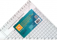 New ez quilting easy angle ii ruler sharon hultgren for 10 Cool Quilting Triangle Ruler