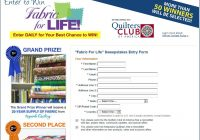 New fabric for life sweepstakes 9   Keepsake Quilting Fabric For Life Gallery