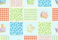 New fabric panel little train cathy loo ba quilt fabric animals 11 New Baby Quilt Fabric Panels Gallery