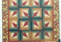 New fanfare log cabin a lazy girl designs quilt pattern 224 a 9 Cozy Lazy Angle Quilt Patterns Gallery