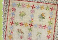 New farmhouse window sills hand embroidery quilt pattern from crabapple hill studio Interesting Crabapple Hill Quilt Patterns