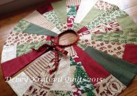 New free quilt pattern christmas tree skirt i sew free 11 Modern Quilt Tree Skirt Pattern Gallery