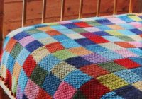 New getting stitched on the farm jane brockets gentle art of 11 Modern Knitted Patchwork Quilt Patterns