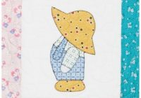 New go overall sam quilt block pattern 10 Cozy Sunbonnet Sam Quilt Pattern Gallery
