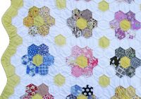New hexagon quilt love this i have a long way to go hexagon 10 Modern Grandmother Flower Garden Quilt Pattern Gallery