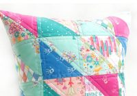 New how to make a quilted pillow using triangle quilt blocks 9 Beautiful Triangle Quilt Blocks Inspirations