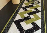 New interlocking squares free craftsy pattern table runner 10 Interesting Quilt Table Runner Patterns Inspirations