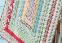 New jelly roll strips make this ba quilt a quick finish 11 Elegant Quick Jelly Roll Quilt Patterns Inspirations