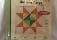 new joann fabrics quilt block of month rustling leaves block 11 ribbon star 699919967612 ebay New Joann Quilting Fabric Gallery