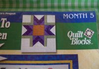 new joann quilt block of the month no 5 welcome to my garden pattern violet New Joann Quilting Fabric Gallery