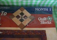 new joann quilt block of the month series is pathway to the stars block is month no one southern cross precut fabric 18×22 with instructions New Joann Quilting Fabric Gallery