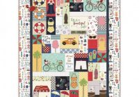 New kimberbell vintage boardwalk quilt kit kits 11 Interesting Vintage Quilt Kits Gallery