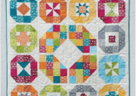 New lacuna sampler quilt pattern hard copy annemarie chany Elegant Traditional Quilt Pattern