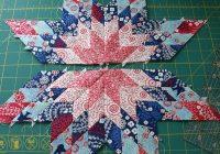 New lone star block tutorial star quilt blocks star quilt 10 Stylish Lone Star Patchwork Quilt Patterns