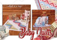 New make a quilt in a day 6th edition log cabin book Cozy Eleanor Burns Log Cabin Quilt Pattern