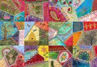 New modern crazy quilt crazy quilts patterns crazy quilts 10   Crazy Patchwork Quilt Patterns Inspirations