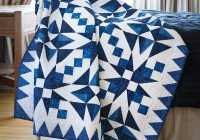New nancys quilting classroom two color quilts and more fons 11 Stylish Two Color Quilts Patterns