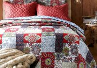 New papke vintage reversible quilt set 11 Cool Vintage Quilt Bedding Inspirations