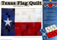 New pattern texas flag quilt Cozy Texas Flag Quilt Pattern Gallery